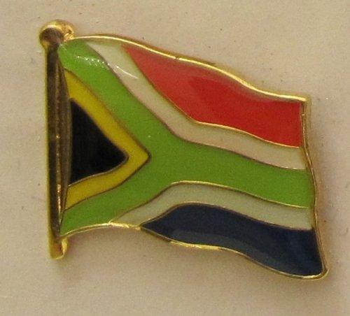 Süd Afrika Pin Anstecker Flagge Fahne Nationalflagge Südafrika Flaggenpin Badge Button Flaggen Clip Anstecknadel