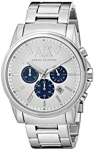 AX ARMANI EXCHANGE Men s AX2500 Silver Watch