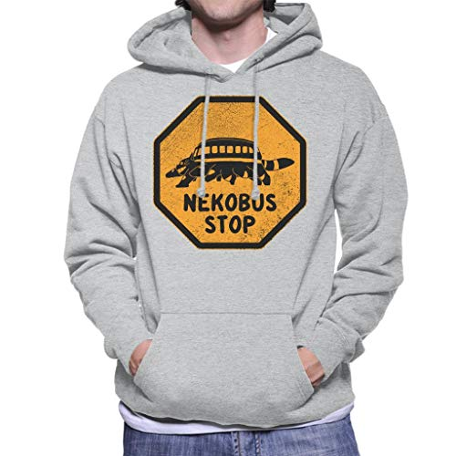 Cloud City 7 Nekobus Stop Teken Mijn Buurman Totoro Heren Hooded Sweatshirt