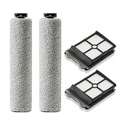 XIAOSHEN Pinceles de Rodillos de filtros Piezas de aspiradora Ajuste para el Suelo de Tineco UN S3 Y iflaroor 3 Pinceles de Rodillos Accesorios Elementos (Color : Sky Blue)