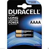 2Baterías AAAA microstilo Duracell (equivalente a: MX2500–E96–LR8D425) 1.5V Alkaline