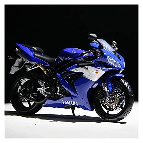 El Maquetas Coche Motocross Fantastico Simulación 1:12 Mini Motocicleta Aleación Para Yamaha R1 Modelo Fundición A Presión Colección Adultos Decoración Regalo Coche De Juguete Regalos Juegos Mas Vendi