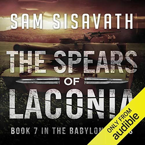 The Spears of Laconia audiobook cover art