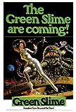 Green Slime Movie Poster (27 x 40 Inches - 69cm x 102cm) (1969) -(Robert Horton)(Richard Jaeckel)(Luciana Paluzzi)(Bud Widom)(Ted Gunther)(Robert Dunham)