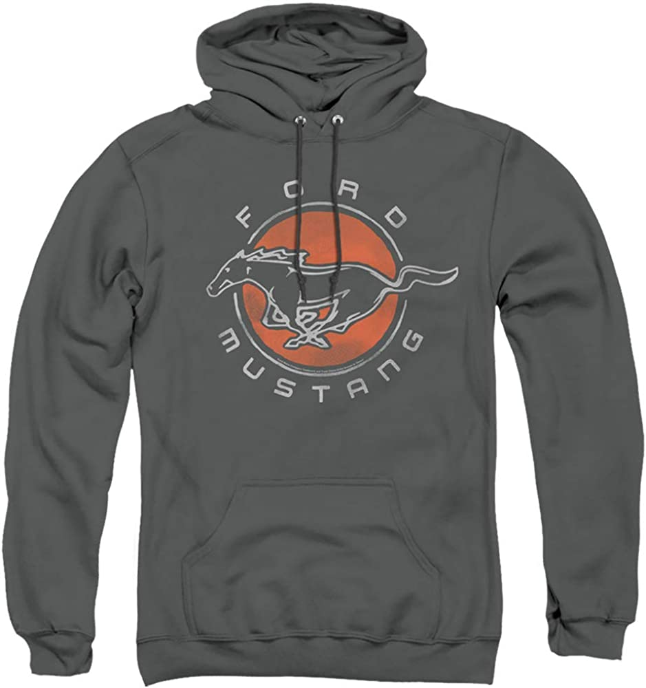 Ford Mustang Circle Unisex Adult Hoodie Me Memphis outlet Mall Pull-Over for