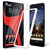TAURI [3-Pack] Screen Protector for Google Pixel 3a, [Bubble...