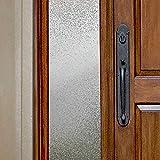 Gila 50146414 Decorative Privacy Ice Chips Film-12 x6.5' Sidelight Window Film, 12' x 6.5'