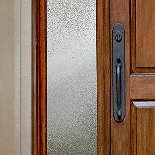 Gila 50146414 Decorative Privacy Ice Chips Film-12 x6.5' Sidelight Window Film, 12