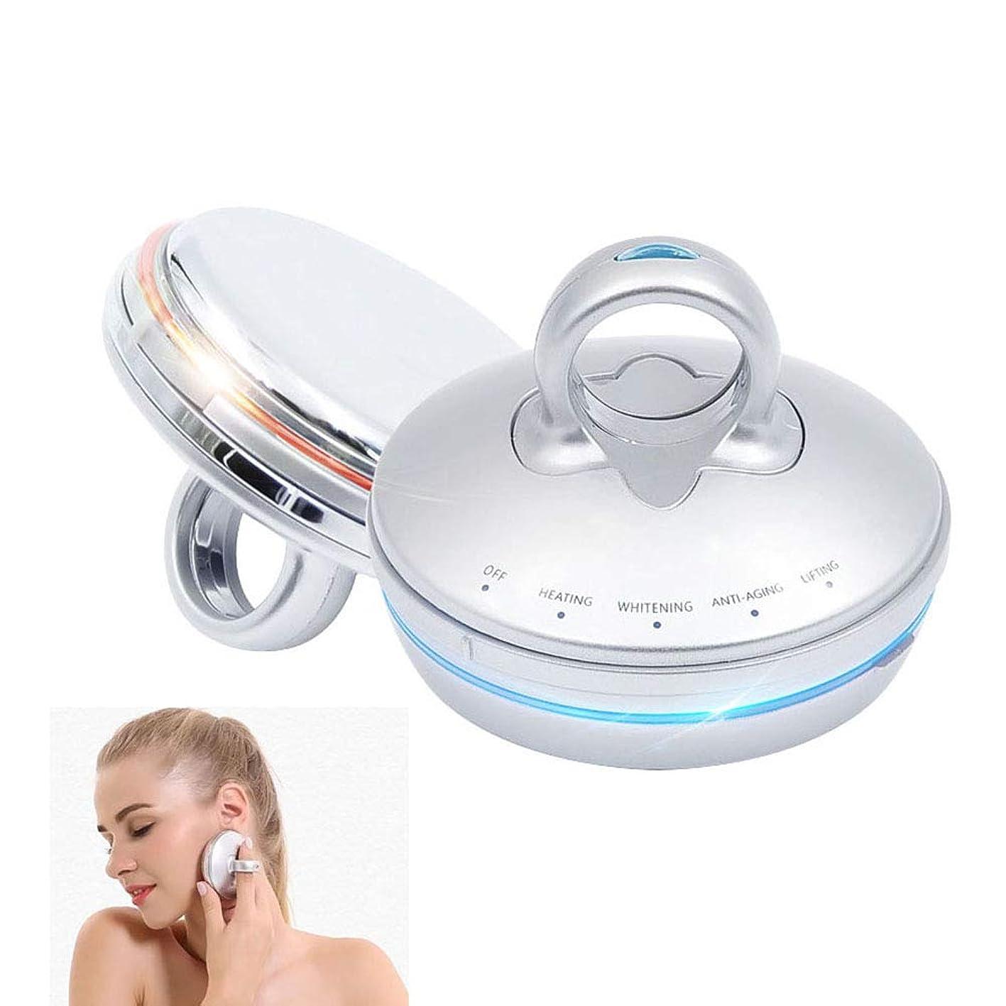 主婦近所の羊の服を着た狼Ultrasonic beauty device, RF face-lift EMS ultrasonic beauty instrument- home lifting firming beauty