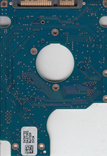 HTS545032B9A300, 0A58732 DA2739D, 0A74423D, DA2831, Hitachi SATA 2.5 Leiterplatte (PCB)