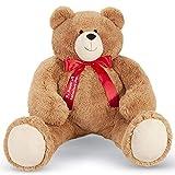 Vermont Teddy Bear Valentines Day – Big Teddy Bear Valentines Day, Jumbo, 48 inch, 4 Foot
