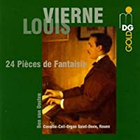 Vierne: 24 Pieces de Fantaisie by Ben van Oosten