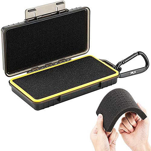 DIY Sponge Interior Gadget Carrying Case Accessories Gear Storage Box for GoPro Hero DJI Osmo Camera SD MSD XQD Memory Card Battery Cellphone Power Adapter Converter Wall Charger Cable Data Sync Cord