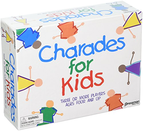 Pressman PRE-3009-12B Toys The Best of CHARADES for Kids (Set of 6)