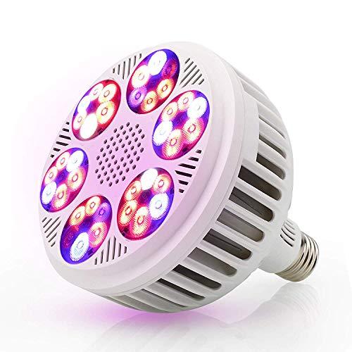 VOVOVO Ampoules de Croissance 120w 36 pcs LED SMD 3030 copeaux E27 Socket Cultiver la Lampe pour des Plantes des Fleurs et des Légumes
