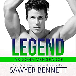 Legend: An Arizona Vengeance Novel                   Written by:                                                                                                                                 Sawyer Bennett                               Narrated by:                                                                                                                                 Joe Arden,                                                                                        Andi Arndt                      Length: 6 hrs and 41 mins     1 rating     Overall 5.0