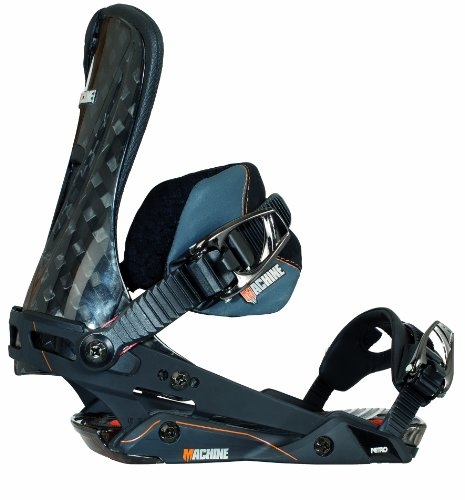 Nitro Snowboards Herren Snowboard Bindung Machine 14, Black, M, 1141-836270