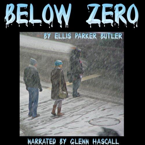 Below Zero audiobook cover art