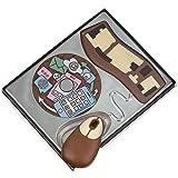 Geschenkpackung Schokoladen Computer-Set 200g -