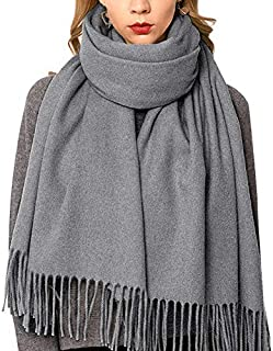 Ladies Wool Shawl Pashmina Scarves Cashmere Scarf for Women Shawls Wraps