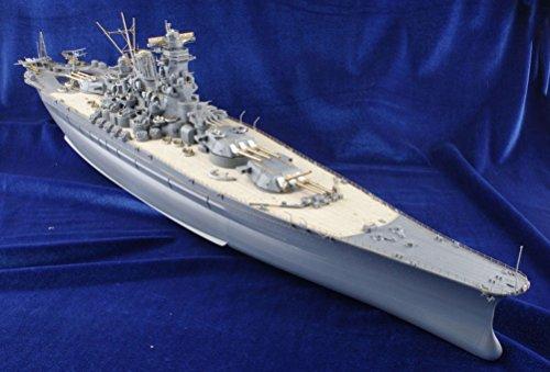 MK.1 Design Tamiya Modello super dettagliato della corazzata New Yamato in scala 1:350, confezione pregiata