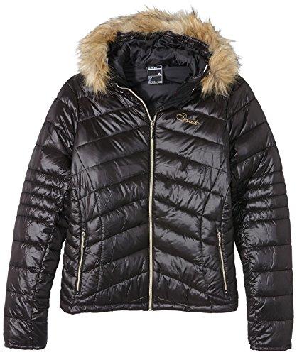 Dare 2b dames imiteren ski-jas, maat 10, zwart