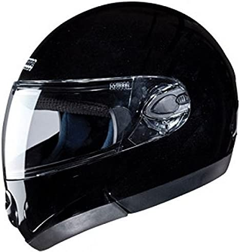 Studds Full Face Helmet Ninja 2G (Black, L)