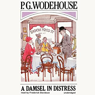 A Damsel in Distress audiobook cover art