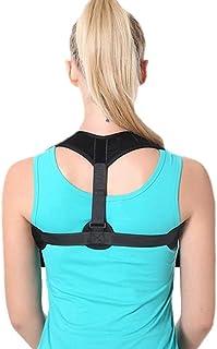 Luckya Adjustable Shoulder Straps Posture Corrector Posture Support Correction Humpback Patch Belt for Adult Kids