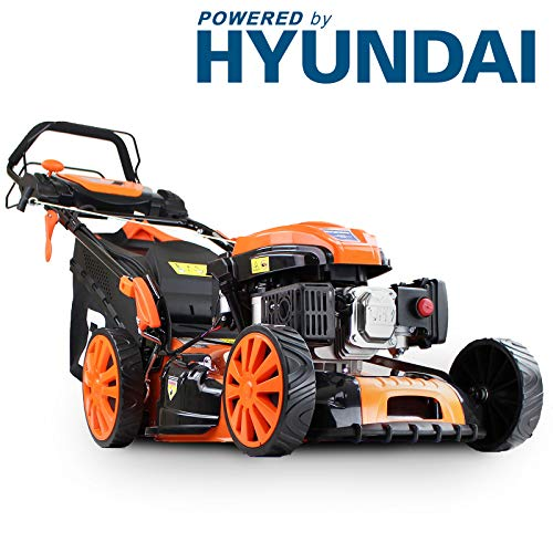 Hyundai Engine P1PE P5100SPE 173cc Petrol Lawnmowers Self Propelled Electric Start 20 Inch 51...
