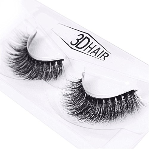 HENGSONG 3D Cils Natural Thick Eye Lashes Maquillage Extension(A)