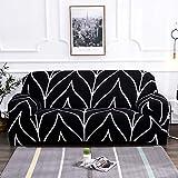 Funda de sofá Spandex para Sala de Estar Material elástico sofá de Dos plazas sofá de Dos plazas Fundas de sofá Fundas de sofá A11 4 plazas