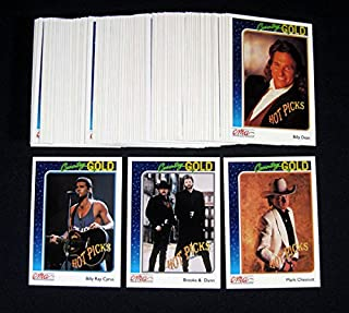 1992 Sterling Country Gold CMA Trading Card Set (100) Nm/Mt