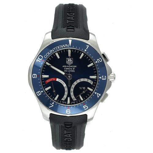 TAG Heuer Men's CAF7110.FT8010 Aquaracer Calibre S Regatta Hybrid Chronograph Watch