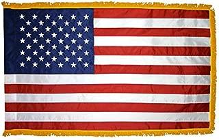 3 x 5 Ft. Fringed U.S. Nylon Taffeta Flag