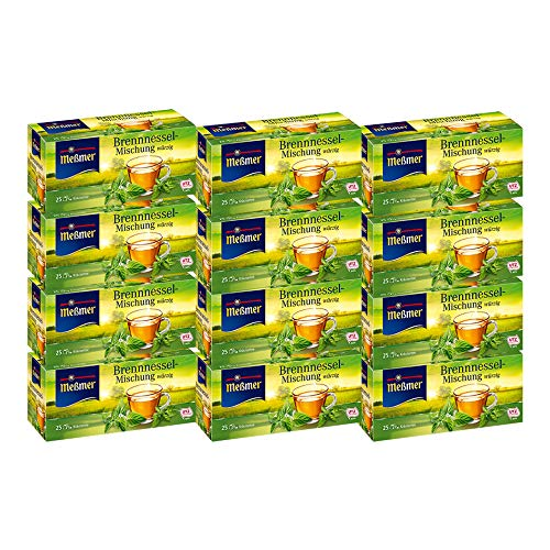 Meßmer Brennessel-Mischung im Beutel, 12er Pack (12 x 25 x 2 g Packung)