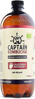 comprar comparacion Captain Kombucha California Raspberry, Té de Burbuja - 1000 ml