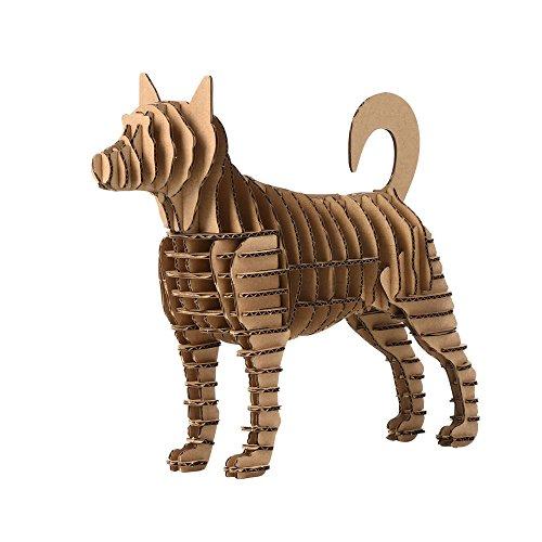 Paper Maker 3-D Puzzle giocattolo zodiaco cinese fai da...