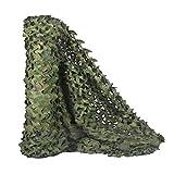 KSS Camouflage-Netz aus Polyester-Oxford, für den Wald, verschiedene Farben, Woodlang / Camouflage, 1.5x2m (5x6.5ft)