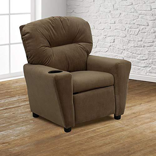 Flash Furniture Furniture>Seating>Chairs>Recliners, Brown Microfiber