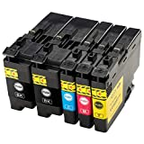 ESMOnline 5 kompatible Druckerpatronen (4 Farben) als Ersatz für Brother LC-3237 zu Brother HL-J6000DW HL-J6100DW MFC-J5945DW MFC-J6945DW MFC-J6947DW