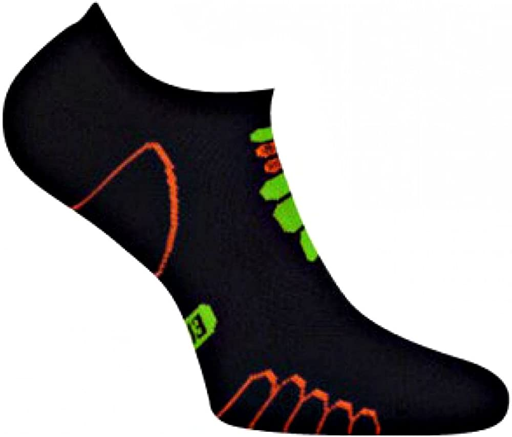 Eurosocks 6409 Sprint Silver Ghost Light Weight Running Socks-Pair