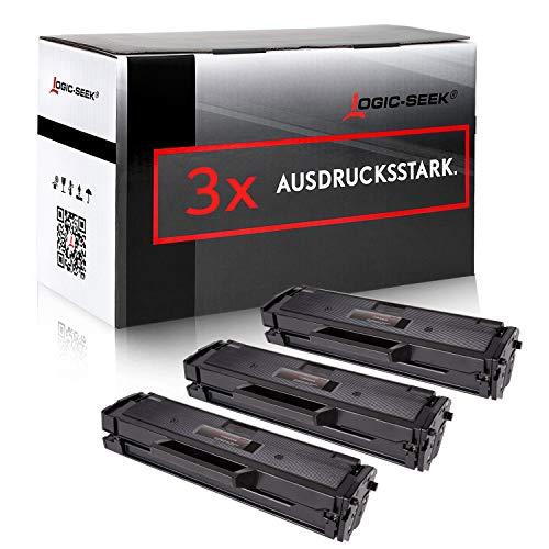 3 Toner kompatibel für Samsung SL-M2022W/SEE SL-M2022/SEE XpressM2070FW M2071FW M2020W - MLT-D111S/ELS - Schwarz je 2500 Seiten