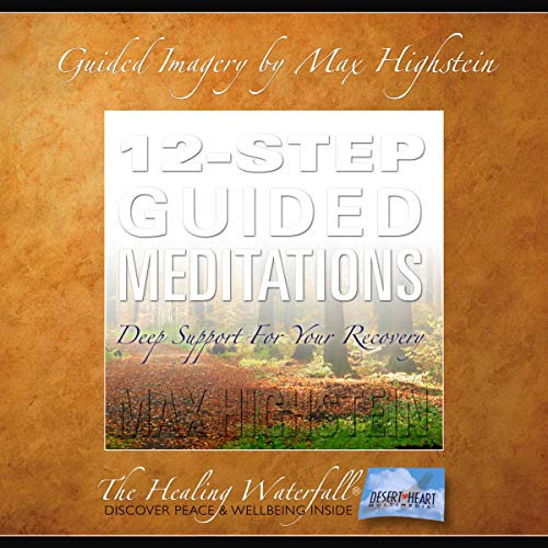 12-Step Guided Meditations audiobook cover art