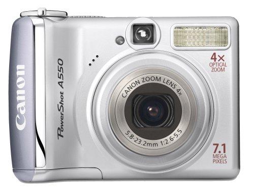 Canon Powershot A550 Digitalkamera (7 MP)