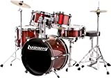 First Drum Set Discounts -Ludwig 5 Piece Wine Red Kit