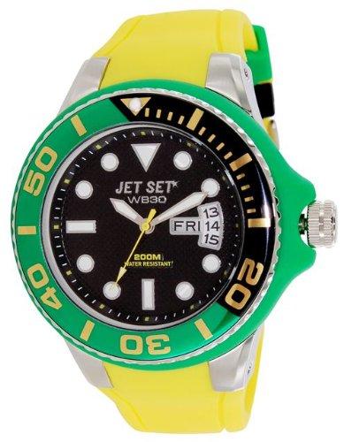 Jet Set Quarzuhr Unisex Unisex J55223-20 53 mm