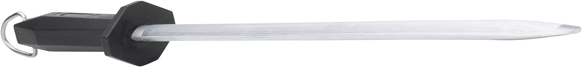 WINCO Premium Oval Sharpening Steel, 14-Inch