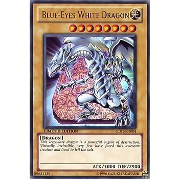 Deckboosters YuGiOh   LC01-EN004 Limited Ed Blue-Eyes White Dragon Ultra Rare God Card