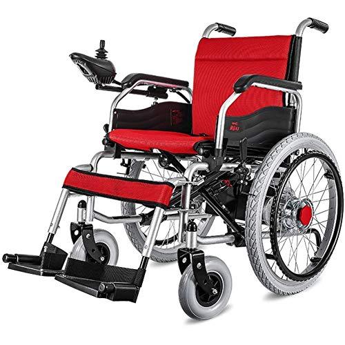 PXX Elektro-Rollstühle, Rollstuhl, Intelligent Elektro-Rollstuhl, Leichtklappsitzbreite 45 Cm, Mai Unterstützung 100Kg, 12Ah Lithium-Batterie, Ein Elektrischer Rollstuhl-Aufzug Armstützen